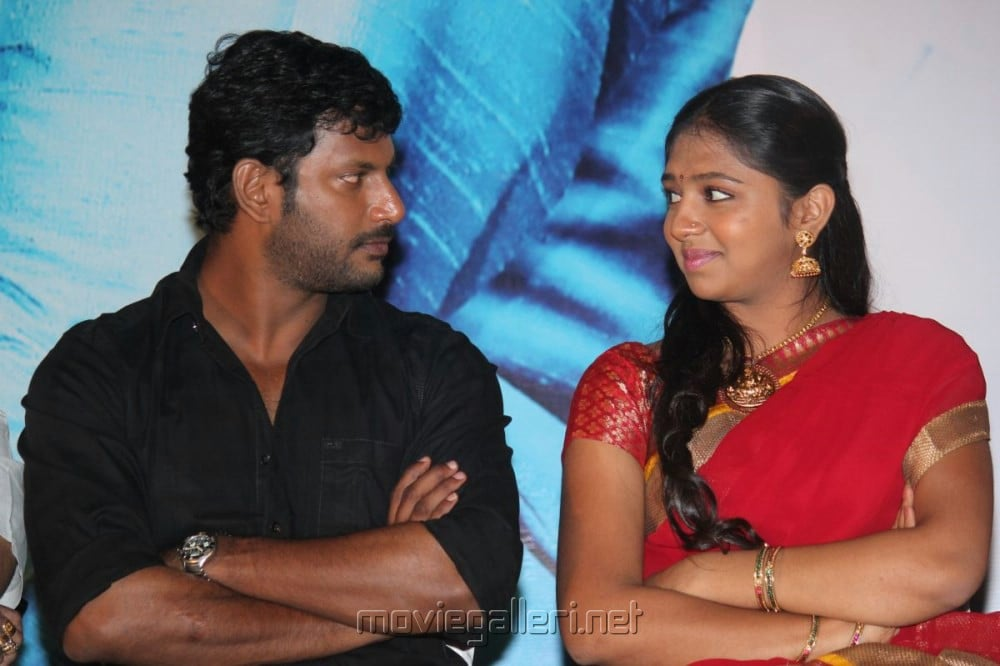 Vishal, Lakshmi Menon @ Pandiya Nadu Audio Launch Photos
