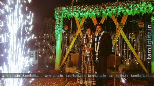 VJ-Anjana-Chandran-Wedding-Reception-Photos-2-TamilGlitz.in-Image