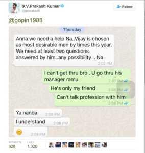 GV-Prakash-Tweet-Whatsapp-Proof