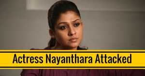 Nayanthara attacked in her Apartment in Chennai