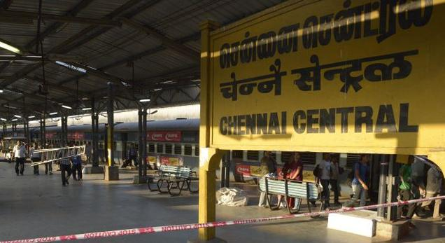 Bomb threat at Central, Egmore Railway stations 1