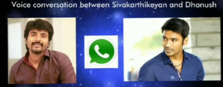 Leaked Audio Conversation between Dhanush & Sivakarthikeyan 31