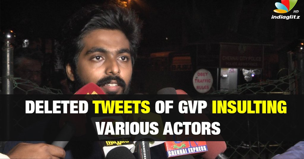 GV Prakash Tweets Collection Insulting Thala Ajith and Dhanush 1