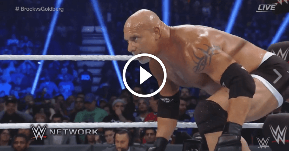Goldberg vs Brock Lesnar - Full Match WWE Survivor Series 2016 HD 1