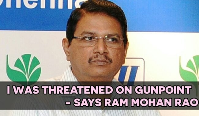 I was threatened in Gunpoint during the It Raid - says Ram mohan rao 3