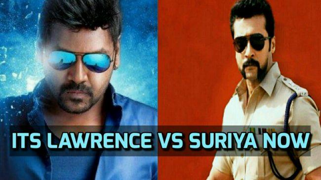 Its Lawrence vs Suriya now 3