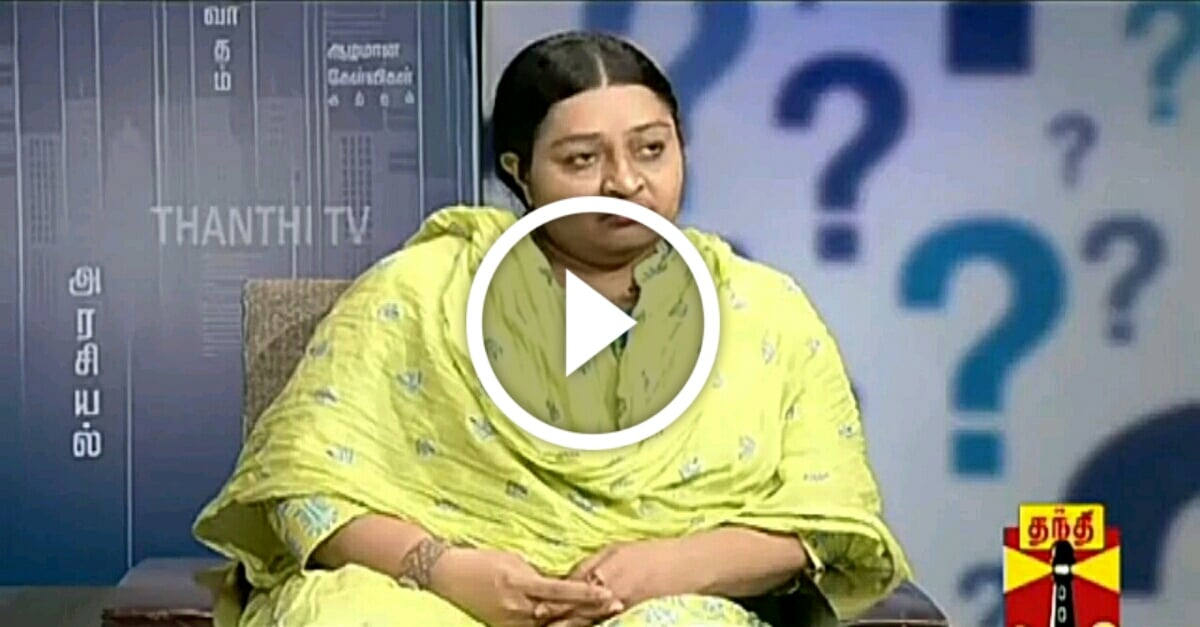 Kelvikkenna Bathil Special | Exclusive Interview with Late CM Jayalalithaa's Niece Deepa 1