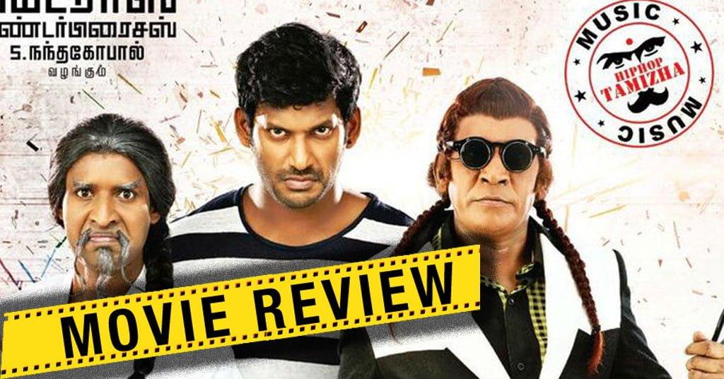 Kaththi Sandai Movie Review 1