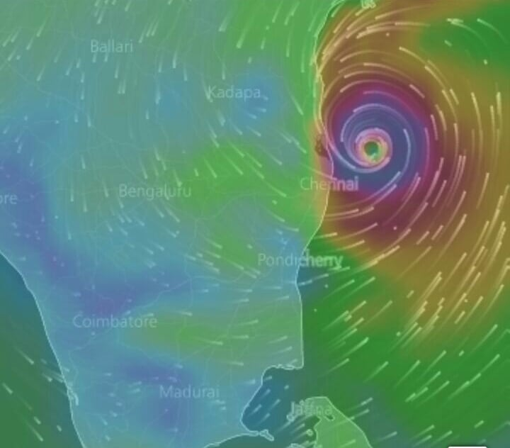 Exclusive pics of Vardah Cyclone and It's Affected Areas 4