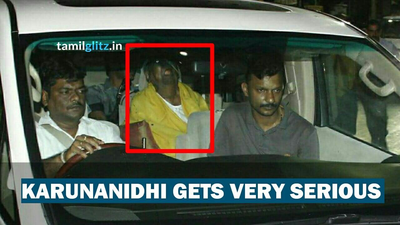Dmk Leader K. Karunanidhi Admitted in Hospital once again 1