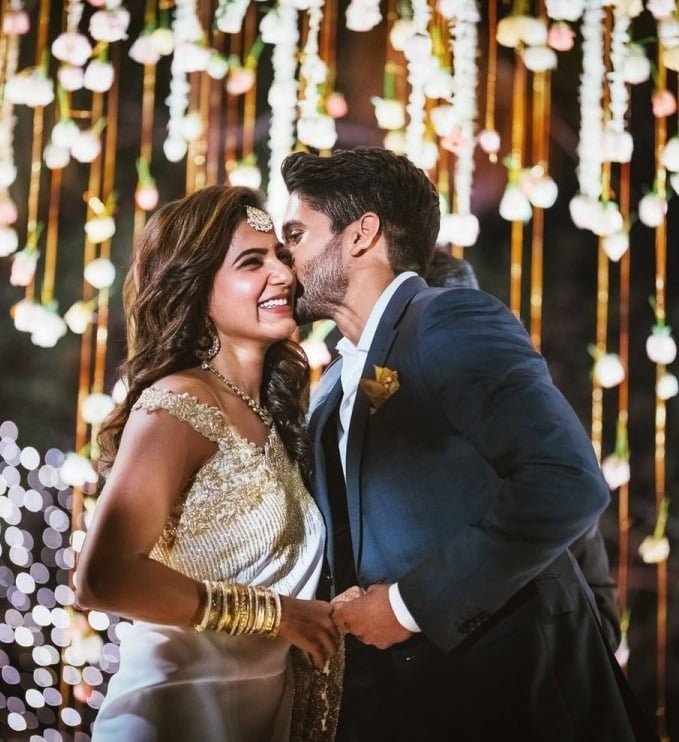 Samantha and Naga Chaitanya Engagement Stills 5
