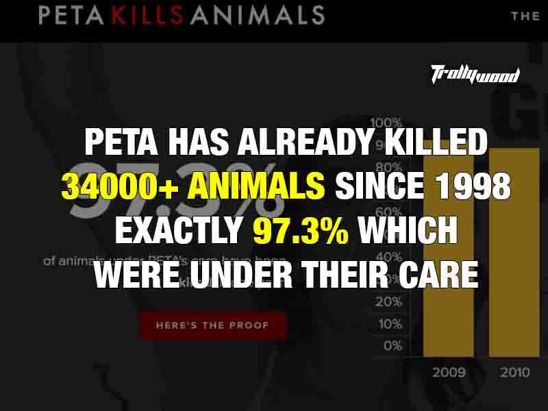 Real Face of Peta : 10 reasons why It should be Banned 3