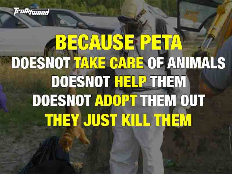 Real Face of Peta : 10 reasons why It should be Banned 1