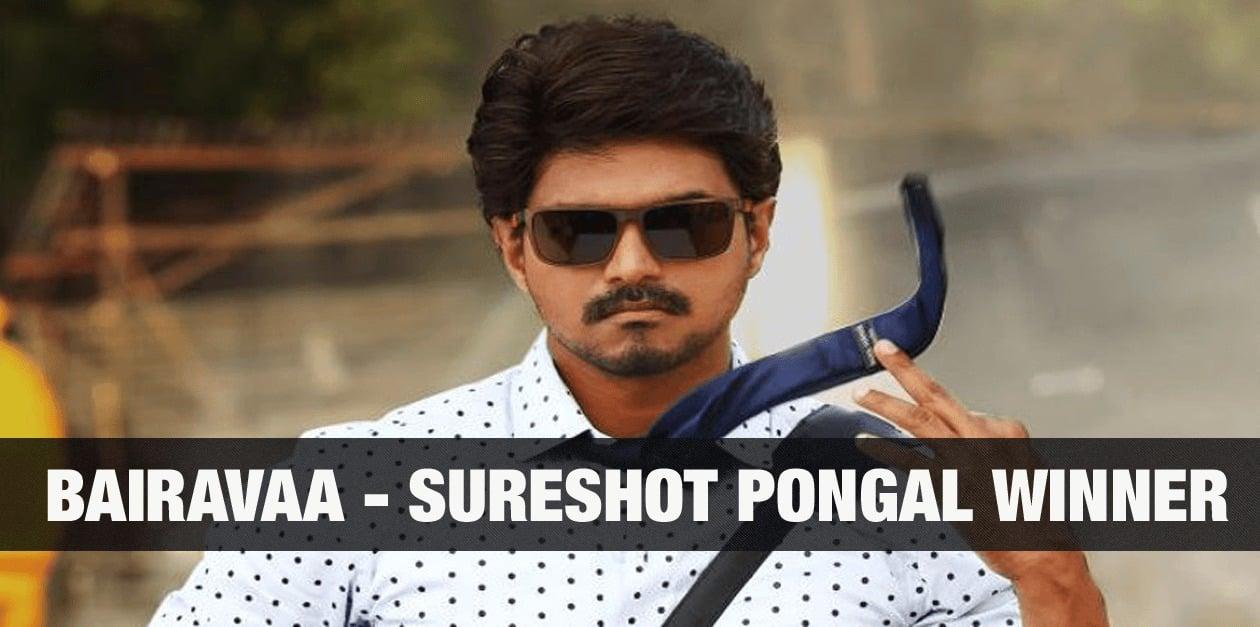 Bairavaa - Sureshot Pongal winner 1
