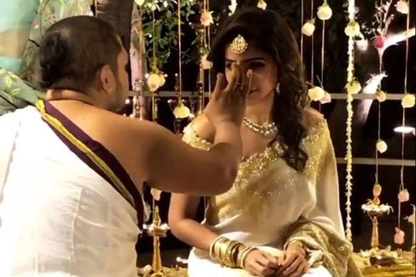 Samantha and Naga Chaitanya Engagement Stills 2