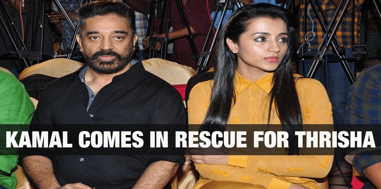 Kamal comes in rescue for Trisha 15