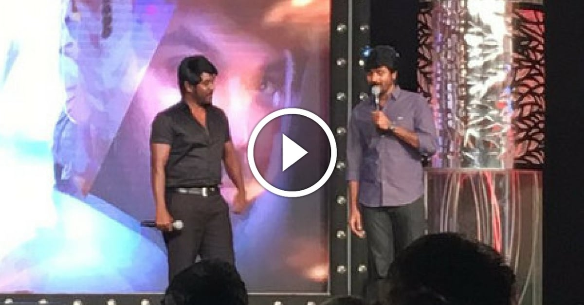 Sivakarthikeyan Dances with Ragava Lawrence | ShivaLingaa Audio Launch 11