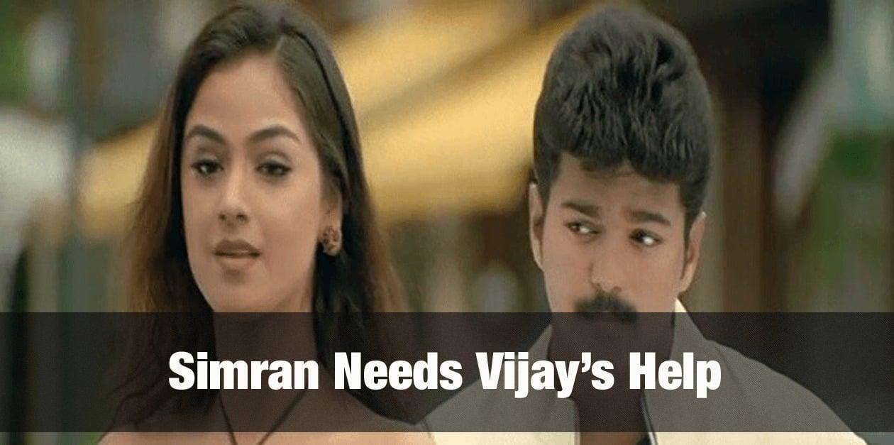 Simran needs Vijay's help 16