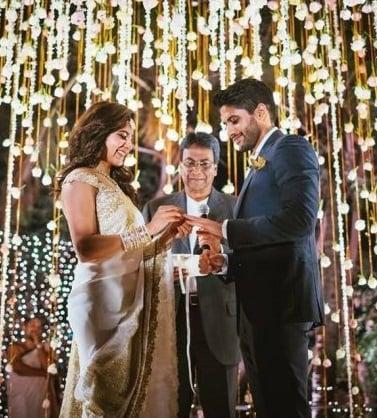 Samantha and Naga Chaitanya Engagement Stills 7