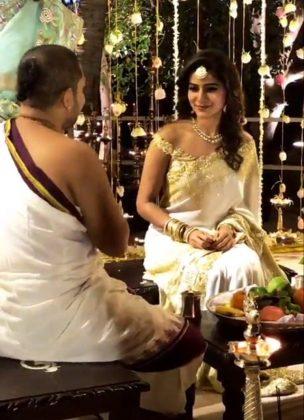 Samantha and Naga Chaitanya Engagement Stills 3