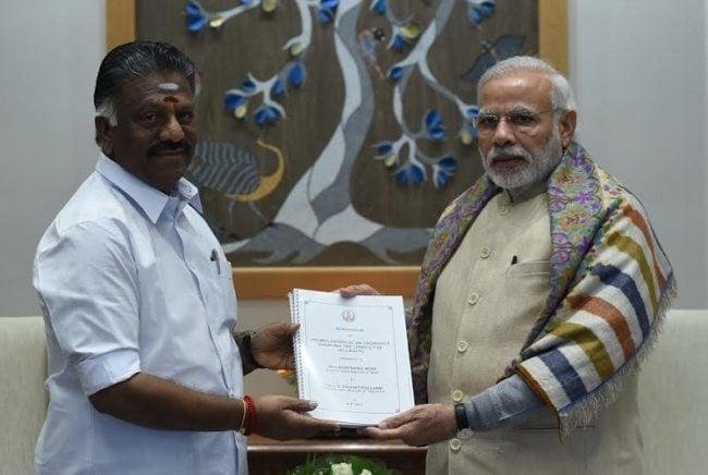 No Ordinance for Jallikattu - Narendra Modi 3