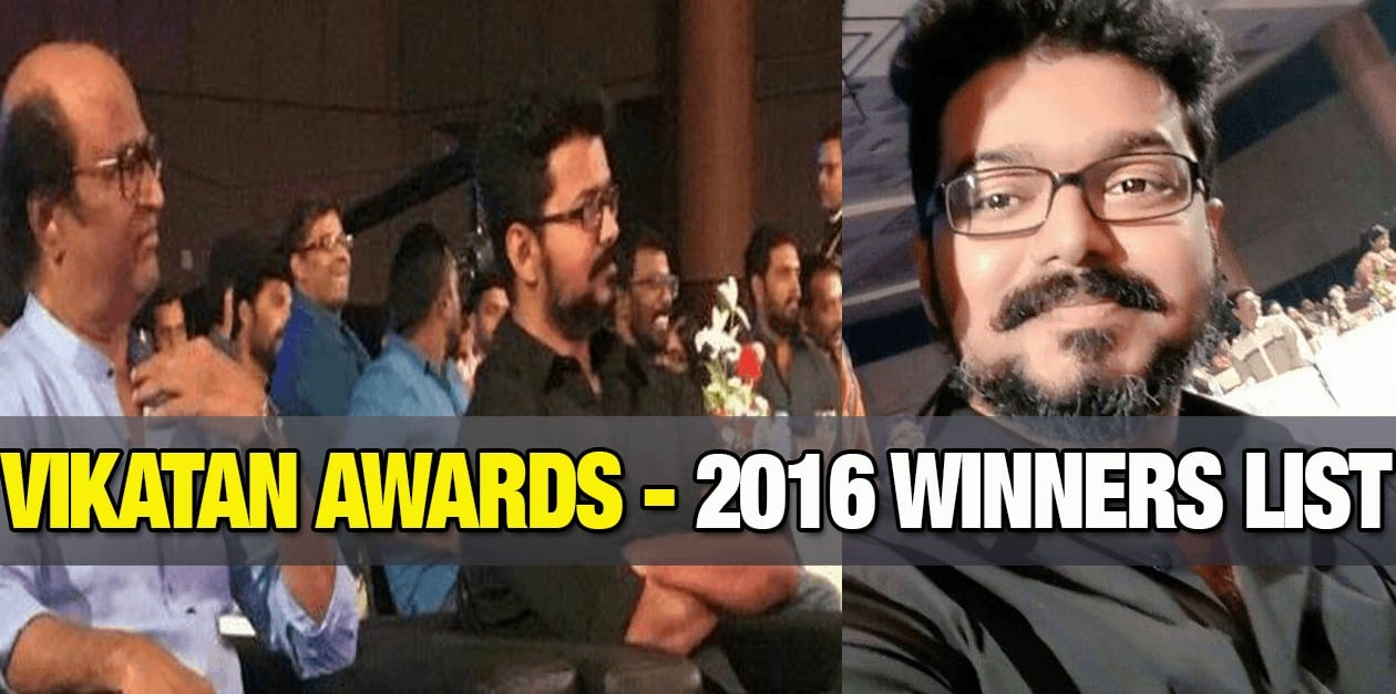 Vikatan Awards 2017 - Winners List 5