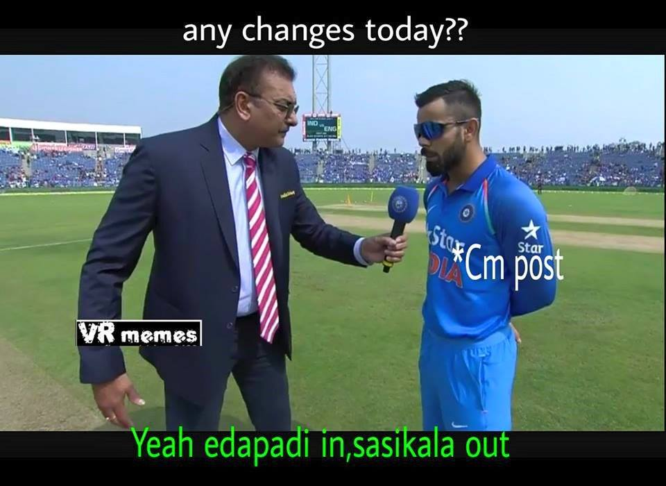 Top 10 Sasikala Trolls from Social Media Yesterday 10