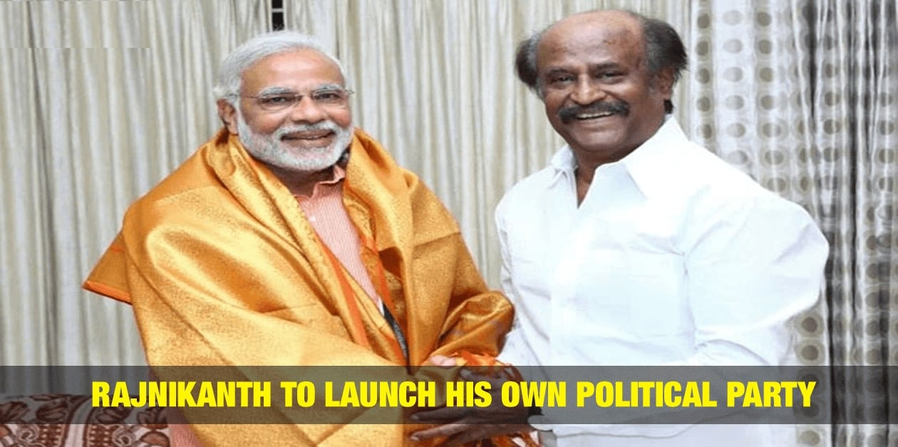 Rajinikanth to Launch His Own Political Party ? 1