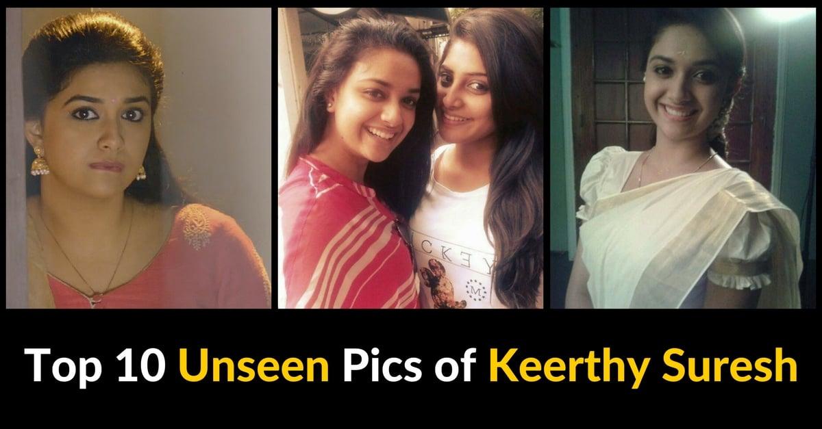 Top 10 Unseen Pics of Keerthy Suresh 1