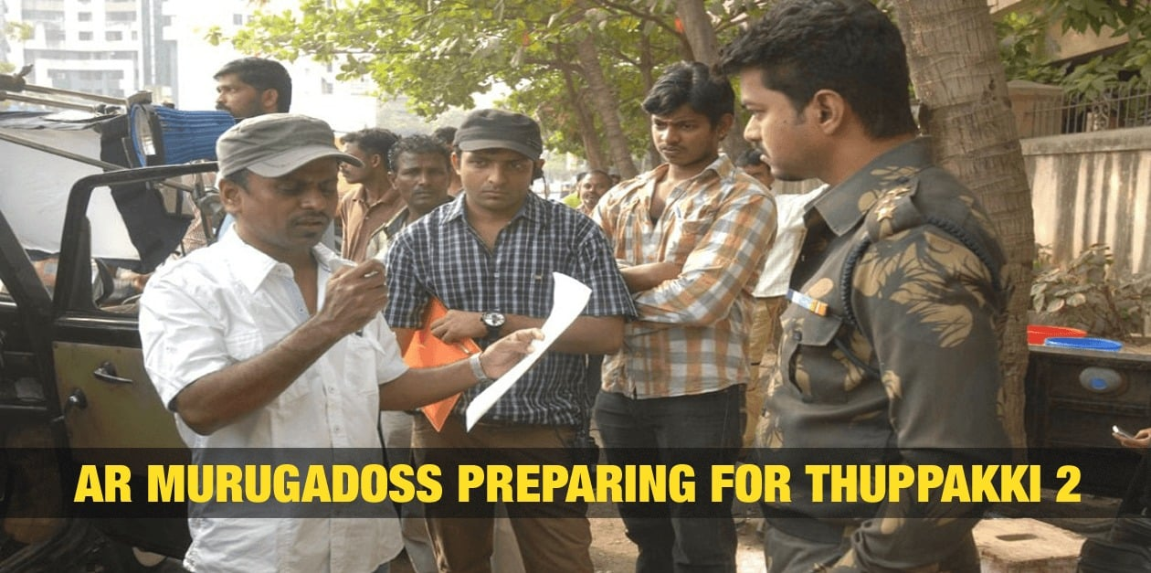 AR Murugadoss Preparing for Thuppakki 2? 3