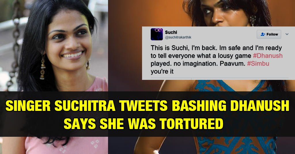Suchitra's Controversial Tweets bashing Dhanush 14