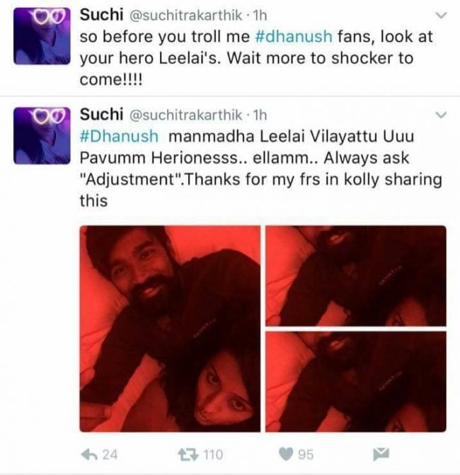 Top 10 Most Controversial Tweets by Suchitra 1