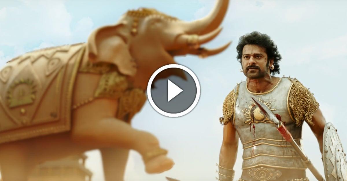 Baahubali 2 Official Trailer   Rajamouli 41