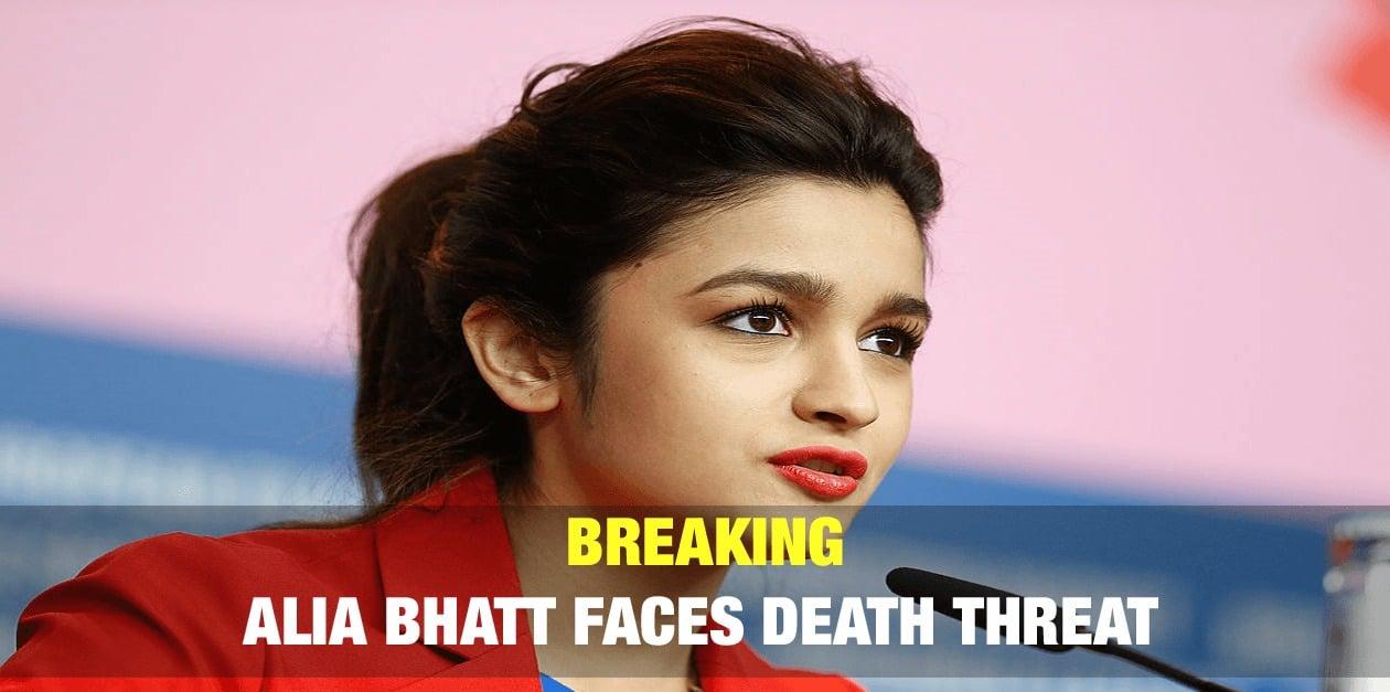 Breaking: Alia Bhatt Faces Death Threat 1