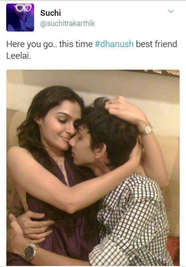 Anirudh Controversial Pic with Andrea Leaked By Suchitra 1