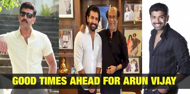Good Times Ahead for Arun Vijay 1