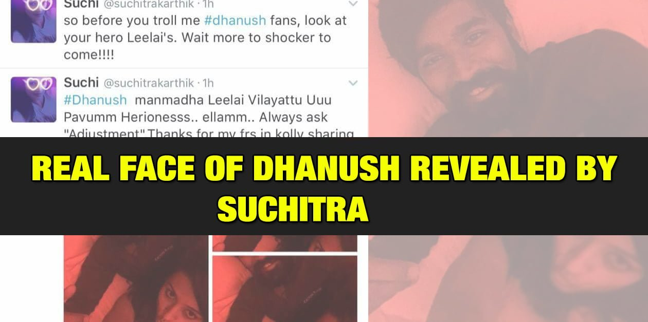 Real Face of Dhanush Revealed 5