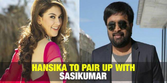Hansika to Pair up with Sasikumar 3