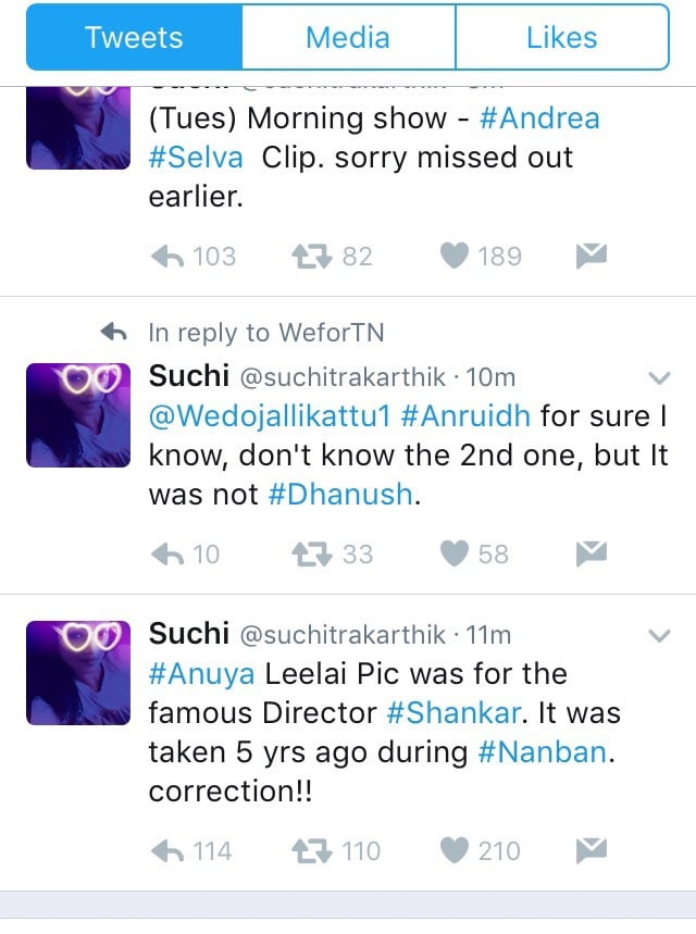 Top 10 Most Controversial Tweets by Suchitra 8