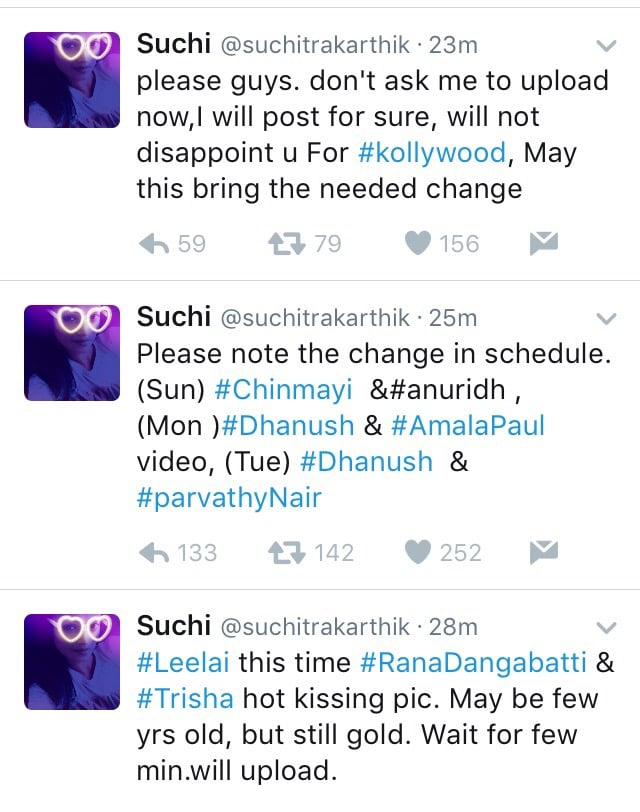 Top 10 Most Controversial Tweets by Suchitra 10