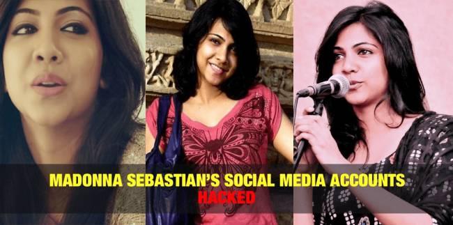 Madonna Sebastian's Social Media Accounts Hacked 3
