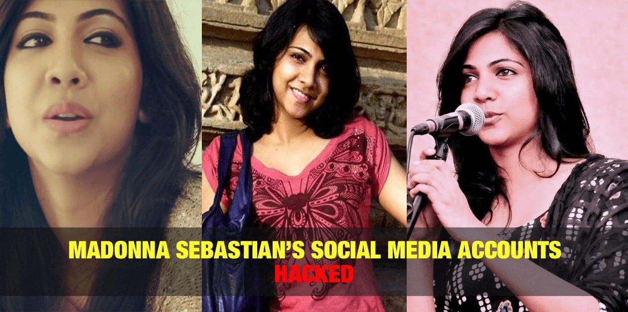 Madonna Sebastian's Social Media Accounts Hacked 1