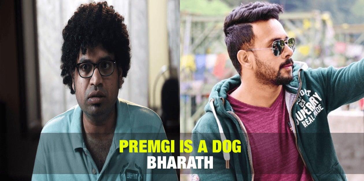 Premgi is a Dog - Bharath 1