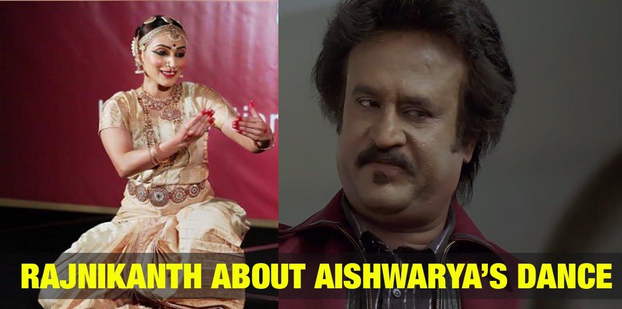 Rajnikanth about Aishwarya's Dance 6