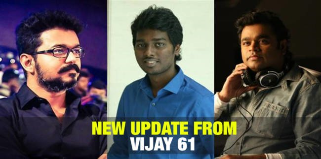 New Update from Vijay 61 1
