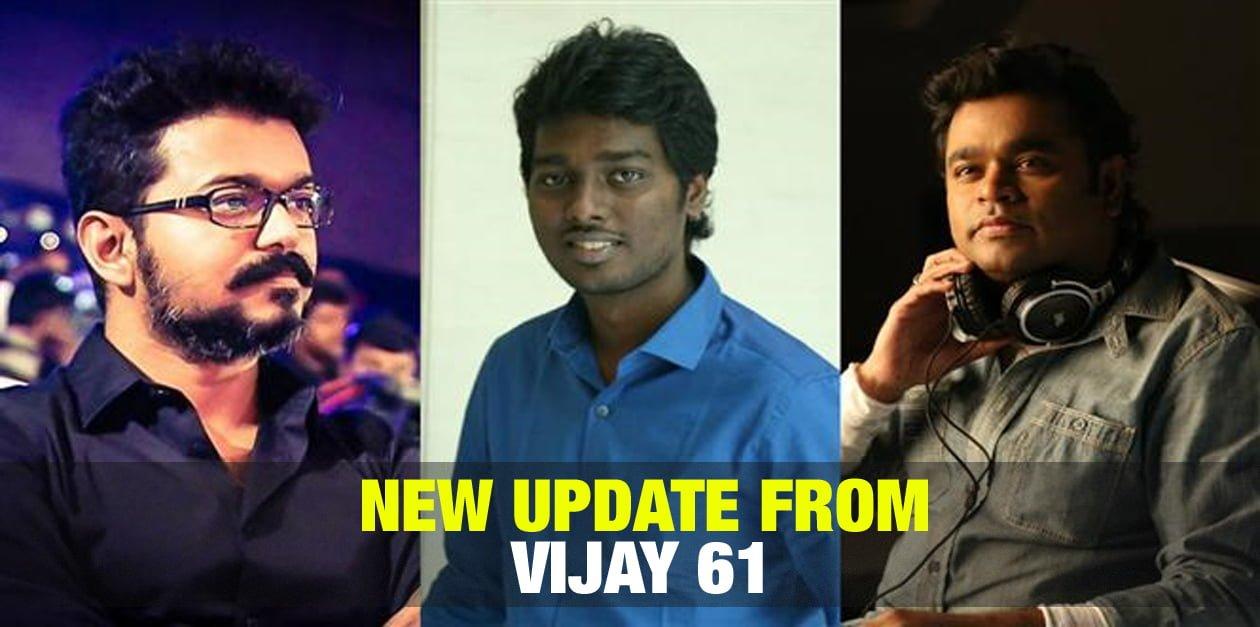 New Update from Vijay 61 23