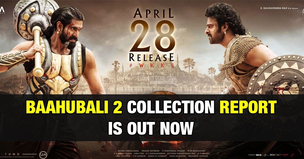 Bahubali 2 Collection [ Updated ] 1