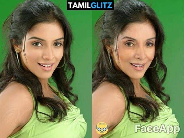 Top 10 Tamil Actress as Grandma - Faceapp Edit 27