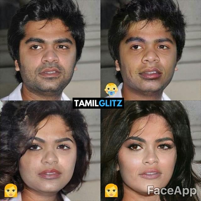 Top 10 Tamil Actors in Faceapp Edits 4