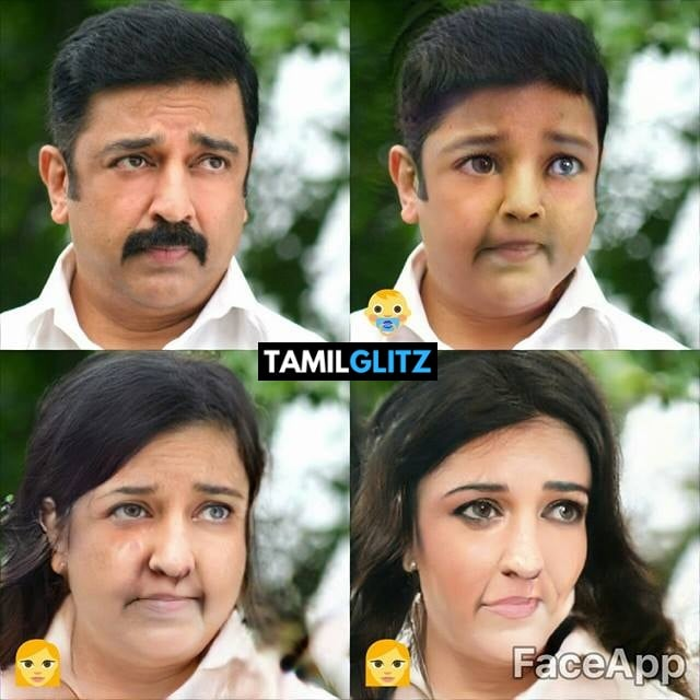 Top 10 Tamil Actors in Faceapp Edits 9